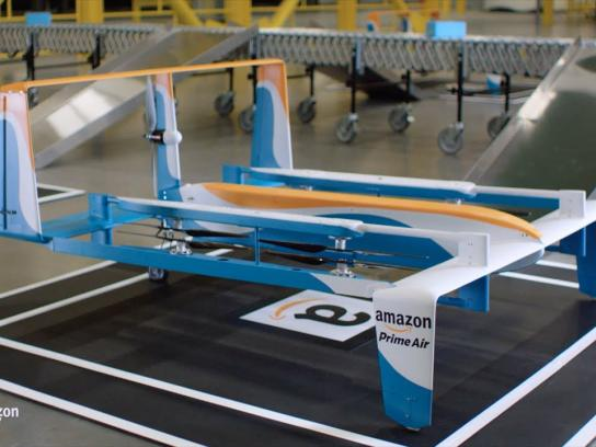 Amazon Digital Ad -  Amazon Prime Air