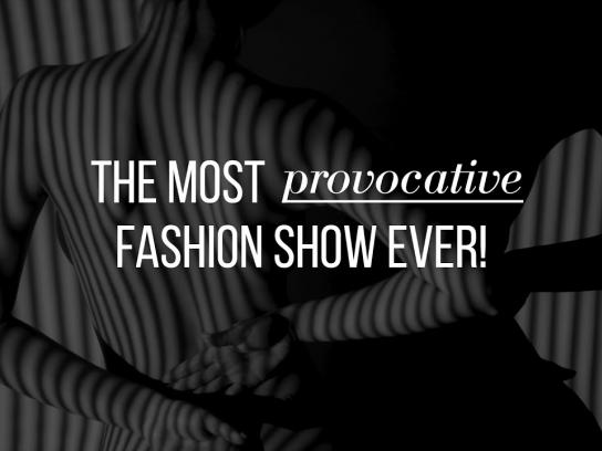 The Survivors Trust Experiential Ad - The most provocative fashion show ever