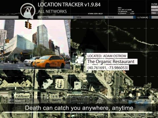 If I die Digital Ad -  Death Can Catch You Anywhere, Anytime