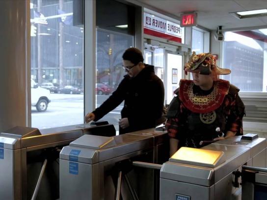 Detroit Institute of Arts Film Ad -  Samurai - Beyond the Sword, 4