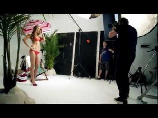 LG Film Ad -  Super Model Photography Trick
