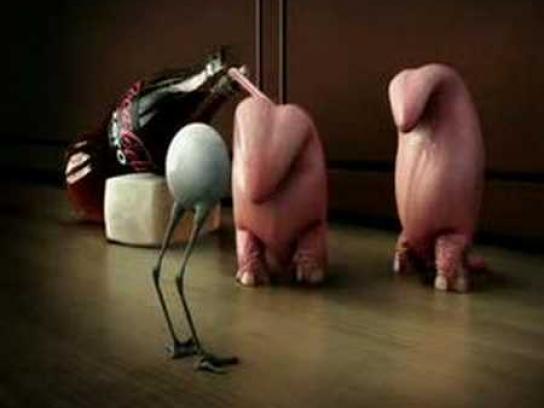 Coca-Cola Zero Film Ad -  Tongues and eyeball, 2