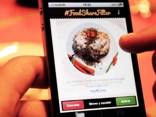 Manos Unidas Digital Ad -  #FoodShareFilter