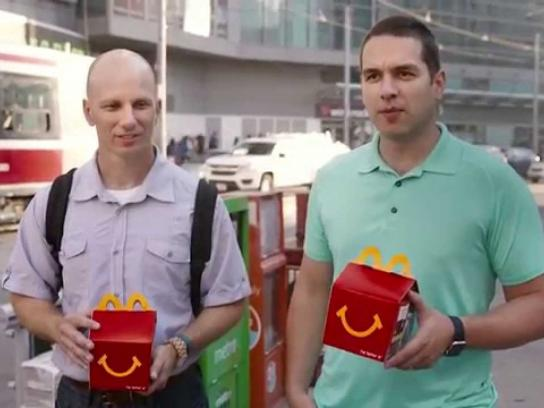 McDonald's Direct Ad -  Thank you