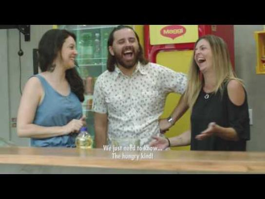 Maggi Ambient Ad - Cook your stay