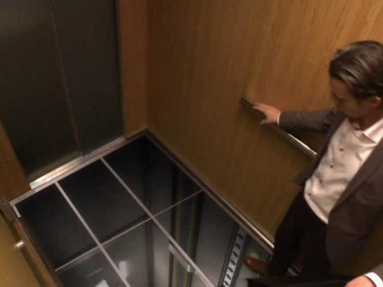 LG Ambient Ad -  Elevator, So real it's scary