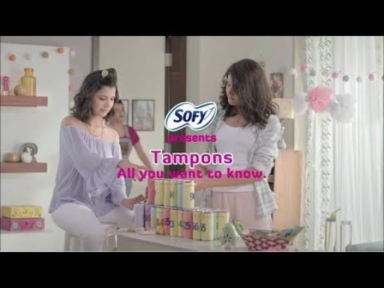 Sofy Film Ad - #EmbraceTheNew- Everything you need to know about using tampons