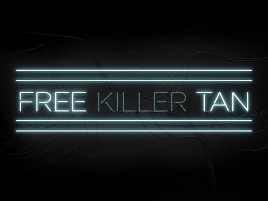 Mollie's Fund Ambient Ad -  Free killer tan