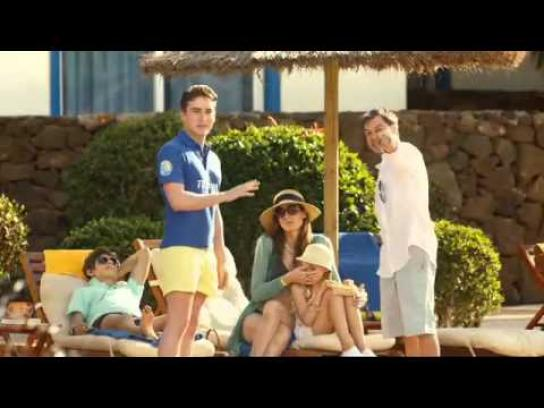 Thomas Cook Film Ad -  Trunks