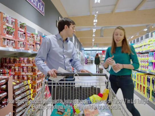 Lidl Content Ad - Craig and Mairead