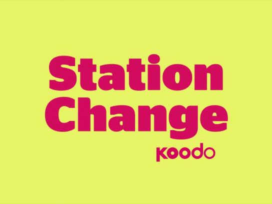 Koodo Audio Ad - Station change