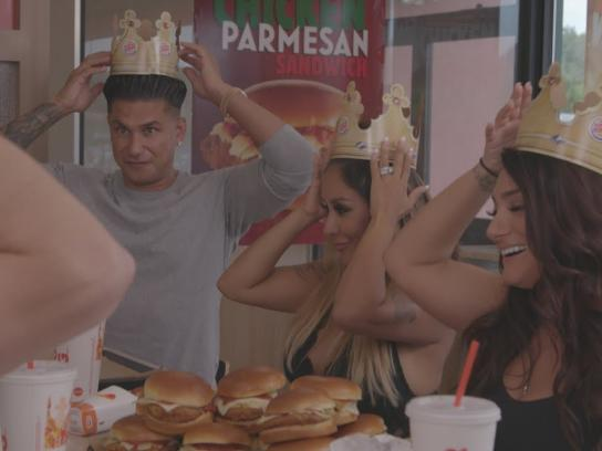 Burger King Content Ad - Chicken Parm Family Dinner