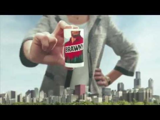 Brawny Film Ad -  Gift
