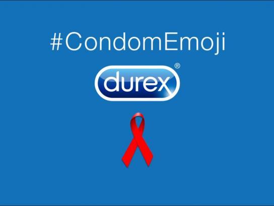 Durex Digital Ad -  Condom emoji