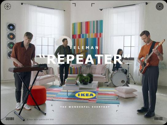 IKEA Film Ad - IKEA x Teleman – Repeater #WonderfulEveryday