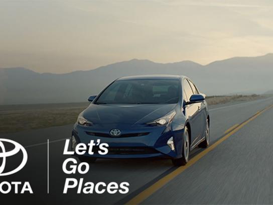 Toyota Film Ad - Skydiver