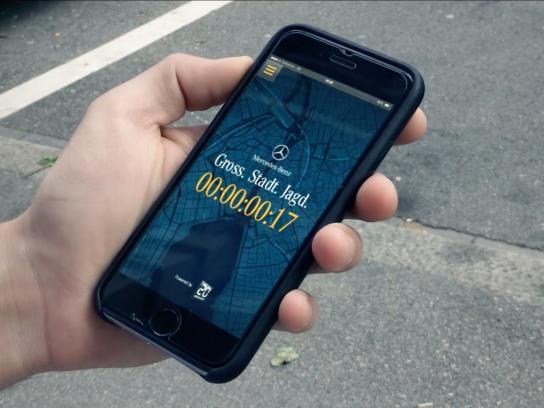 Mercedes Ambient Ad -  Urban Hunt