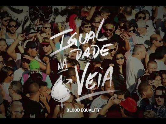 Grupo Dignidade Ambient Ad - Blood equality