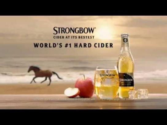 Strongbow Film Ad -  Slow motion horse