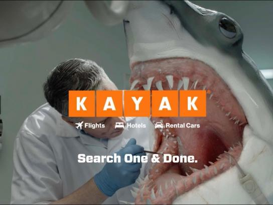 Kayak Film Ad - Shark