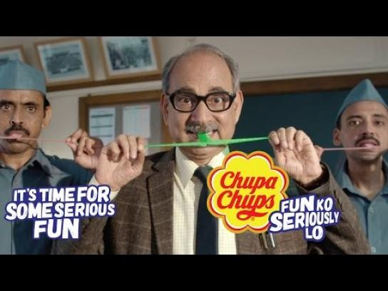 Chupa Chups Film Ad - Taking fun seriously