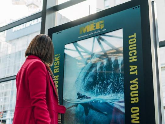 The Meg: Mega Shark Attack at Southern Cross Station