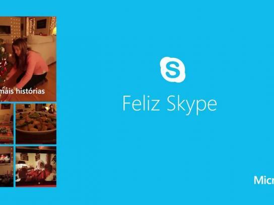 Microsoft Digital Ad -  Happy Skype