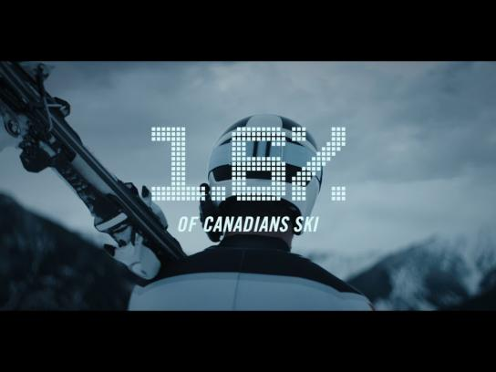 Canadian Paralympic Committee Film Ad - #GreatnessIsRare Para alpine skiing with Mac Marcoux