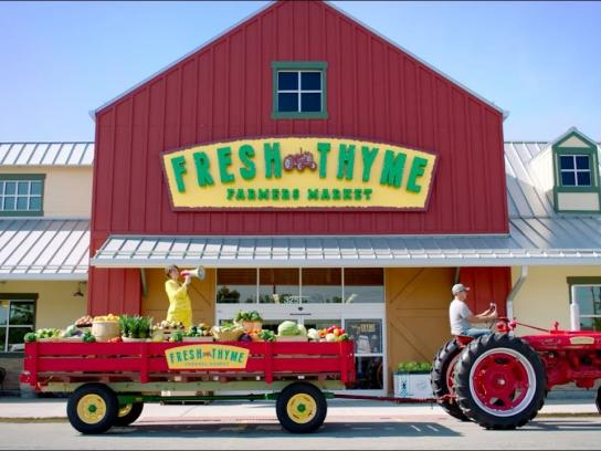 Fresh Thyme Farmers Market Film Ad - Freshness For All