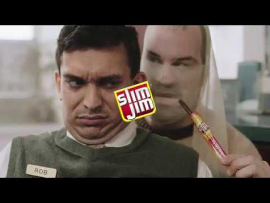Slim Jim Film Ad - Bank Tellers