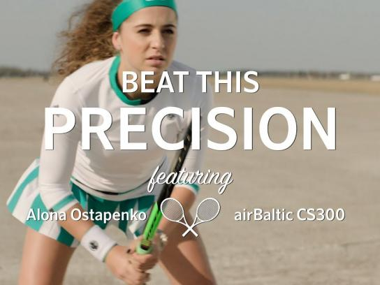 airBaltic Film Ad - Beat this Precision