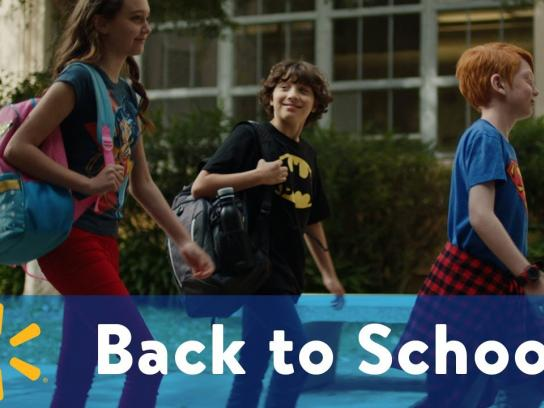 Walmart Film Ad - Own the School Year Like a Hero