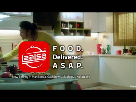 LaaLsa Film Ad - Flat Food