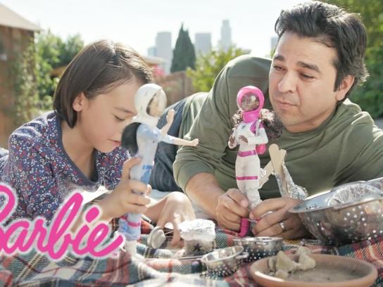 Barbie Content Ad - Dads who play Barbie