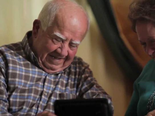 Johnson & Johnson Film Ad -  The Grandparents Frame