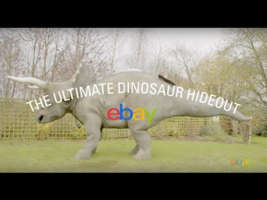 ebay Digital Ad -  The ultimate dinosaur hideout