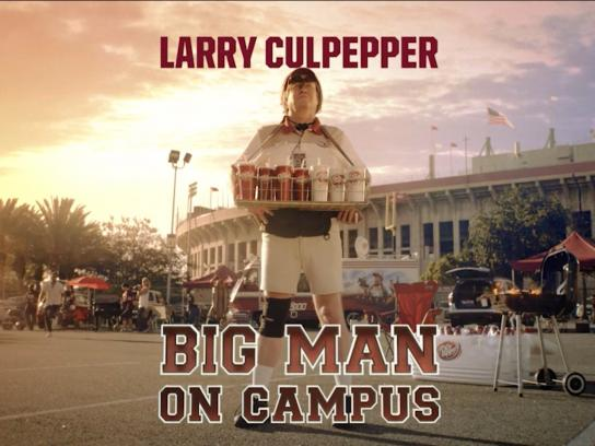 Dr Pepper Film Ad - Big man on campus