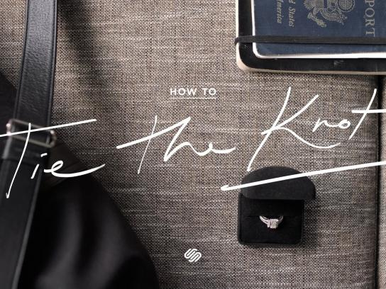 Squarespace Film Ad -  How to tie the knot