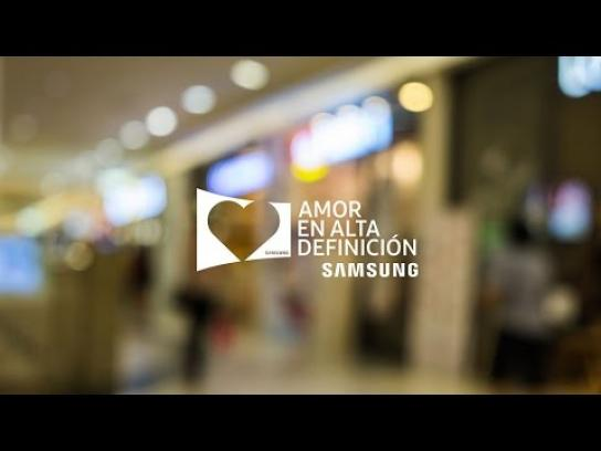 Samsung Experiential Ad - Love in high definition