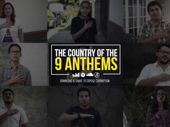 El Faro Digital Ad - The Country Of The 9 Anthems