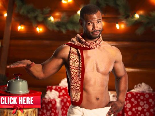 Old Spice Digital Ad -  MANta Claus, Devastating Explosions