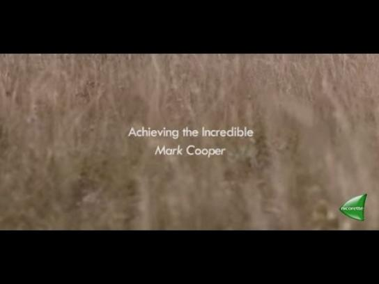 Nicorette Digital Ad -  Achieving the incredible with Mark Cooper