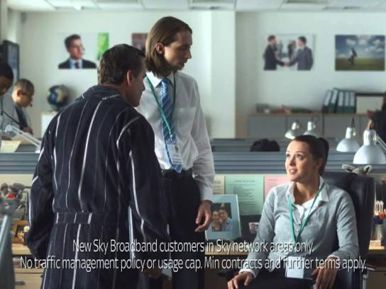 SKY Film Ad -  Telling Stelling