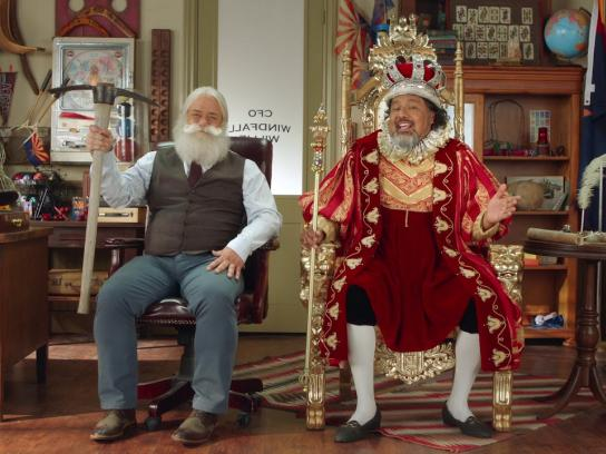 Arizona Lottery Film Ad - Royal Millions King Guillermo