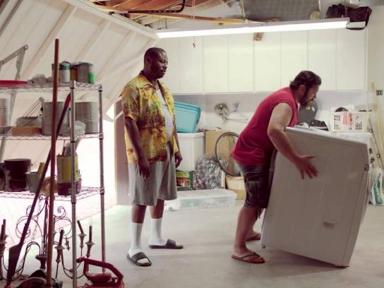 Mercurochrome Film Ad -  Whatever happens - Washing machine