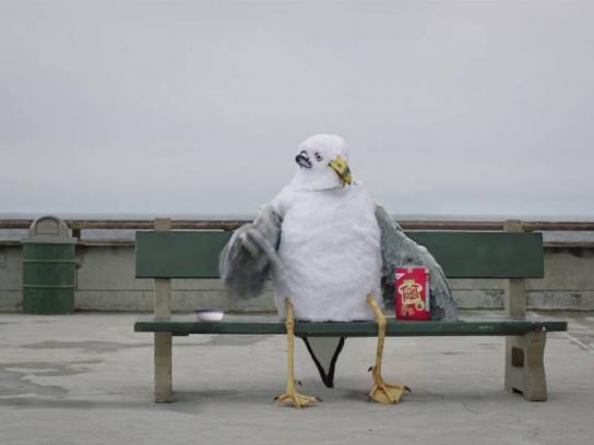 Tiny Toast Digital Ad - Seagull