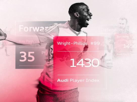 Audi Digital Ad -  Introducing the Audi Player Index