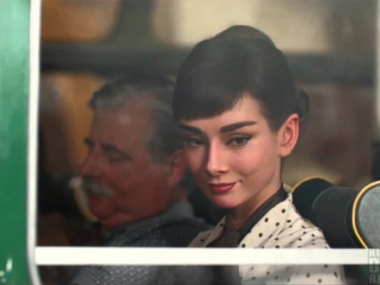 Galaxy Film Ad -  Audrey Hepburn