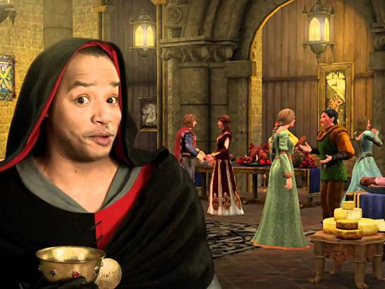 EA Games Film Ad -  The Sims Medieval