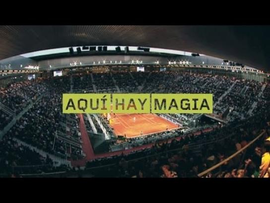 Madrid Open Digital Ad -  There is magic in the air